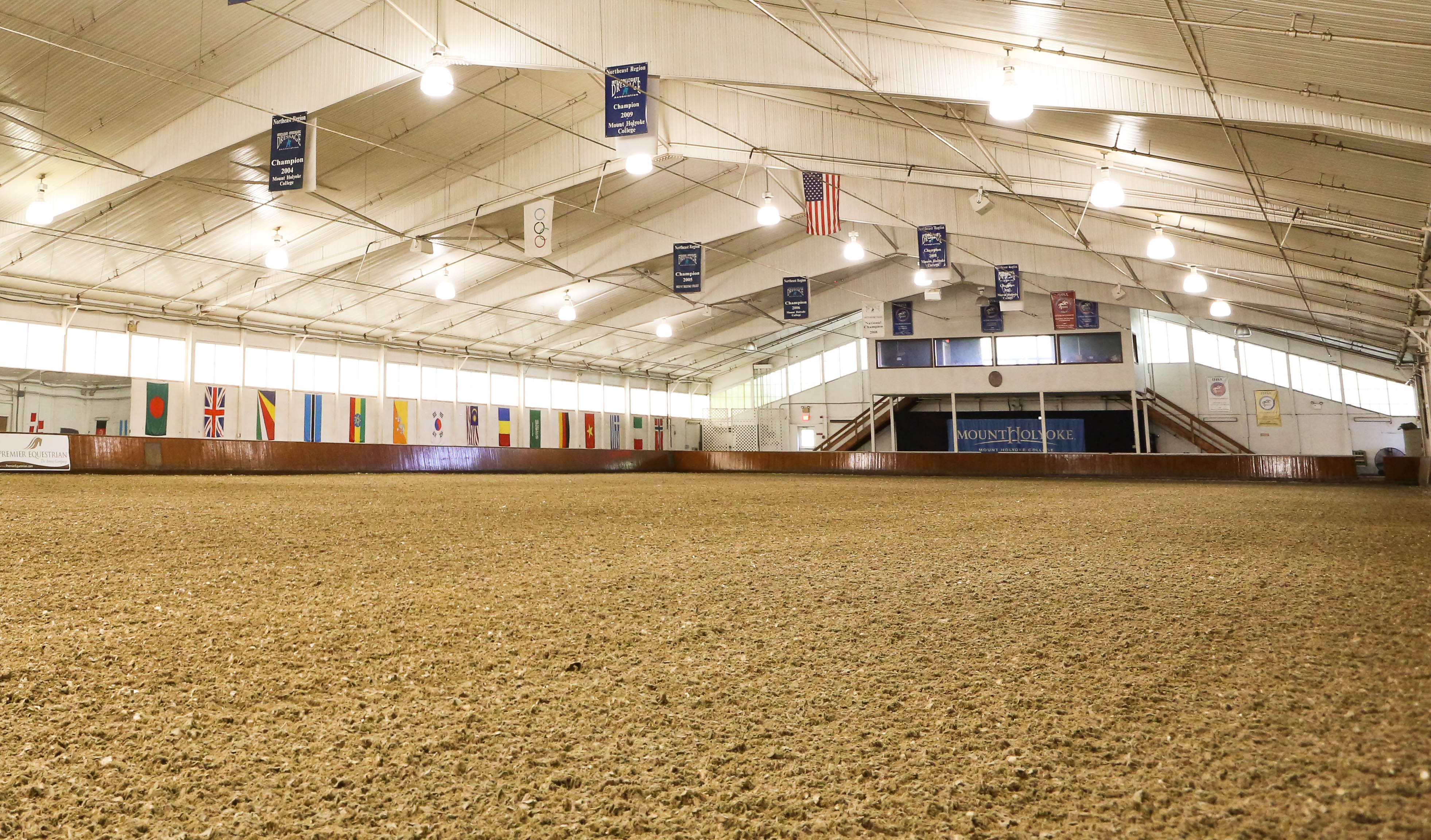 make your indoor riding arena spectator friendly