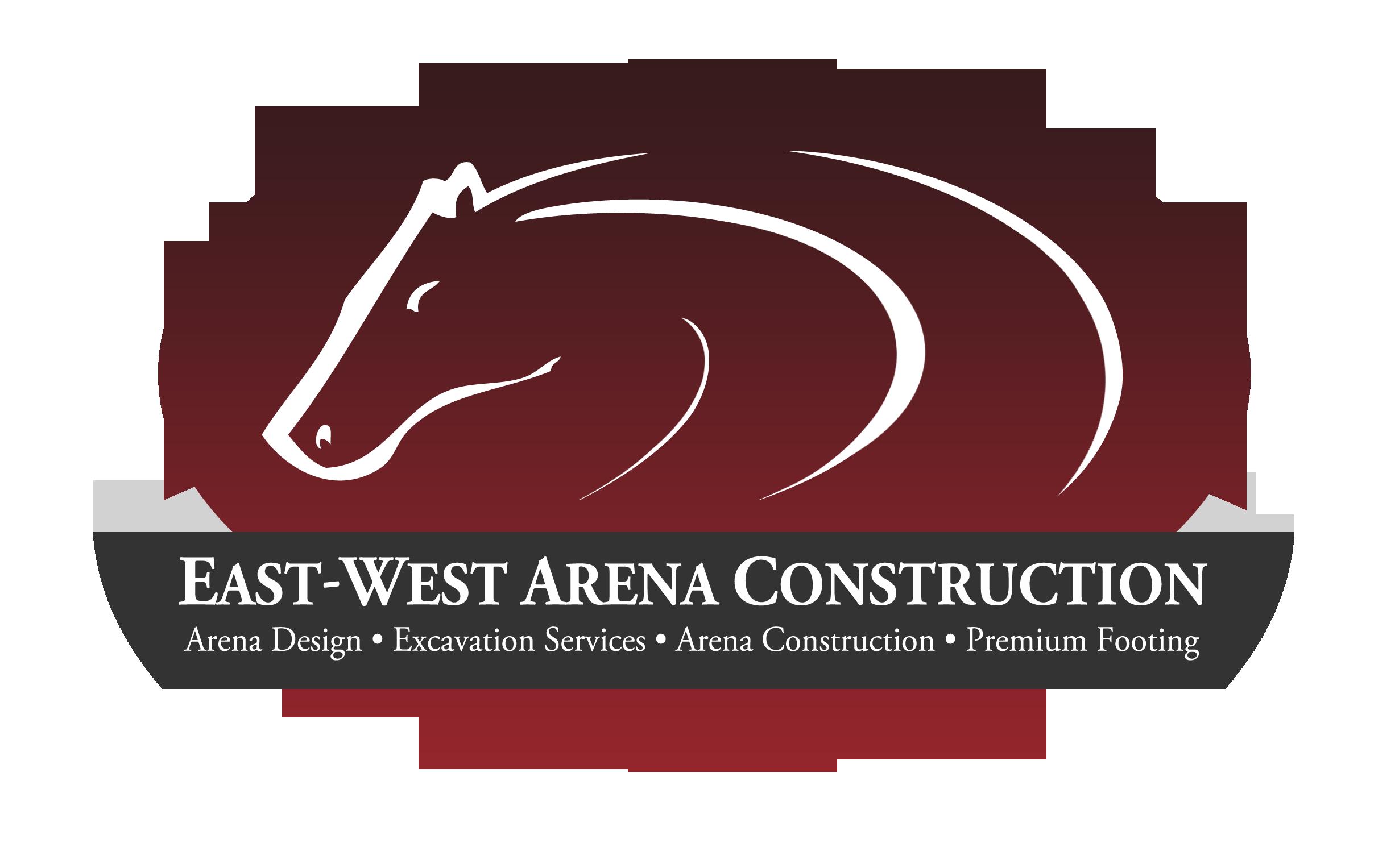 EastWest Arena Construction Logo