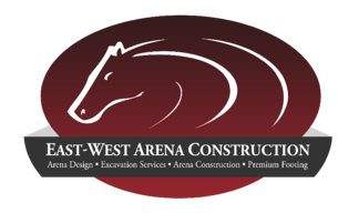 EastWest Arena Construction Logo