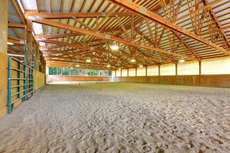 College Equestrian Arena